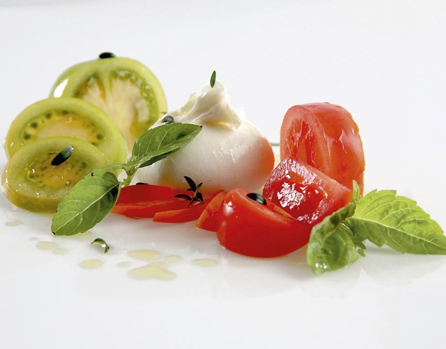 Salade Caprese à la Burrata