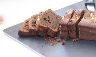 Gâteau au chocolat et Black Cheddar