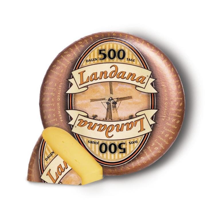 GOUDA LANDANA 500 JOURS MEULE 10KG