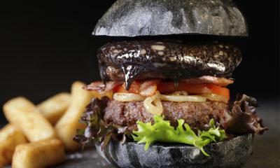 Burger Black Cheddar