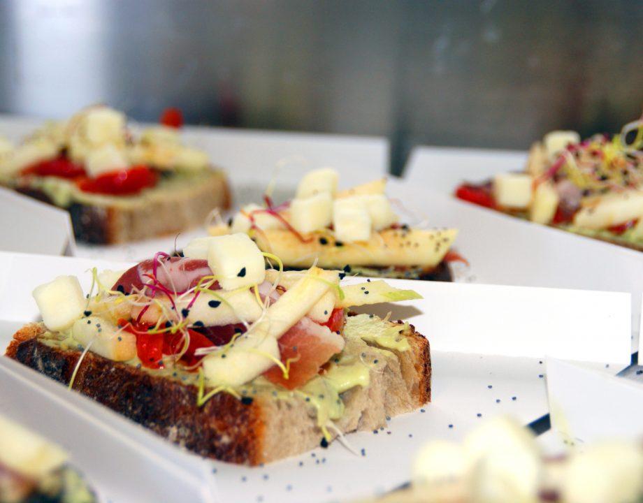 Tartine espagnole à base de Queso Manchego